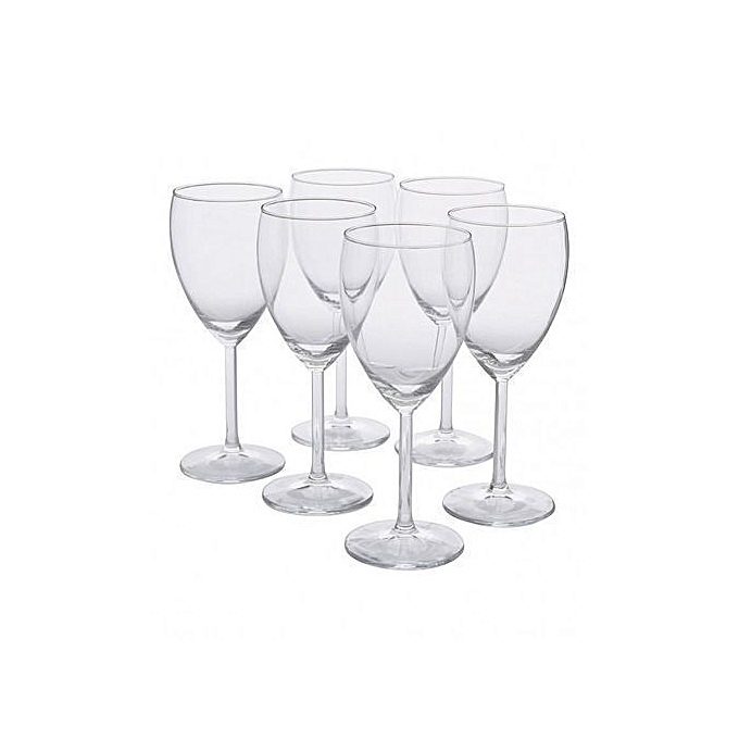 Generic 6 Pcs Wine Glasses
