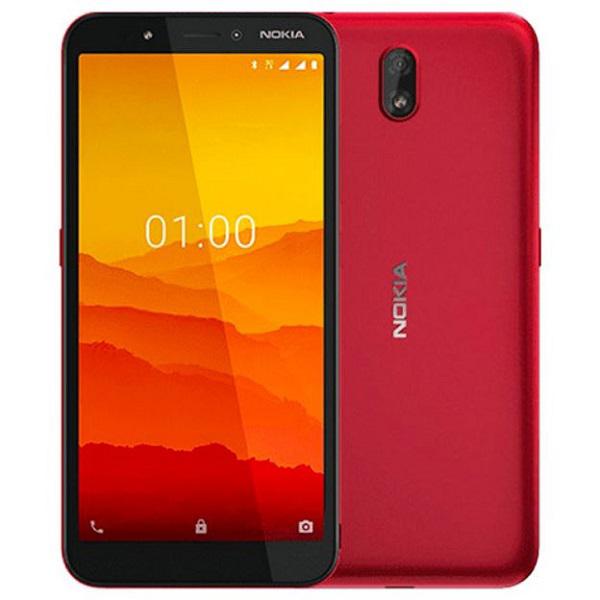 Nokia c1 RED 16GB+1GB MEMORY