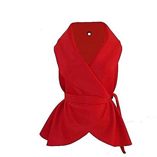 RED SCUBA COAT